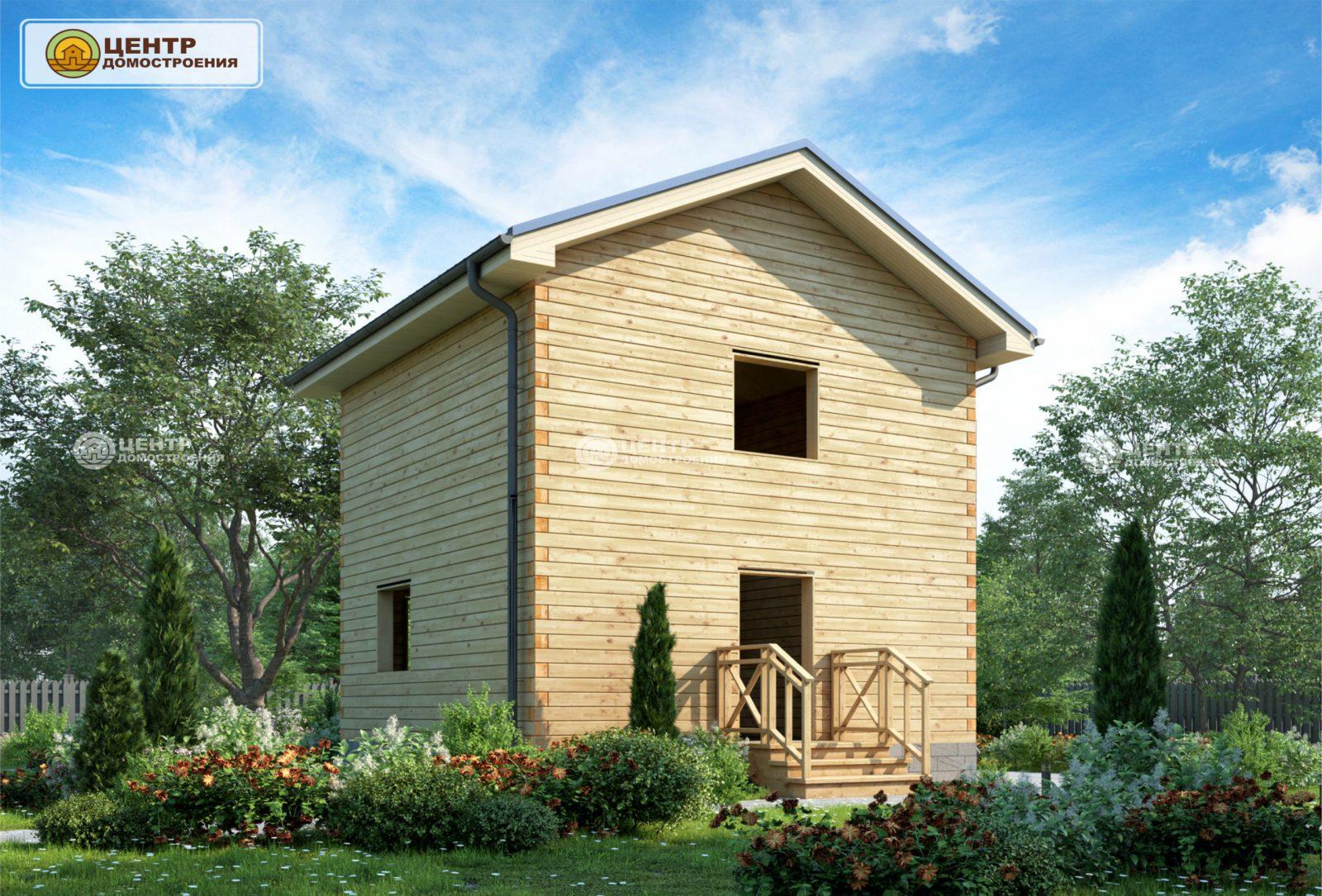 проект двухэтажного дома 6 на 6