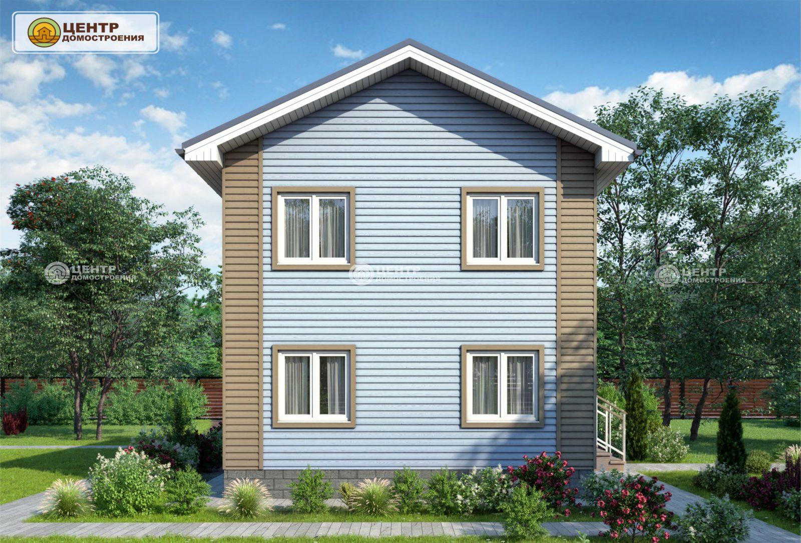 проект двухэтажного дома 8 на 6