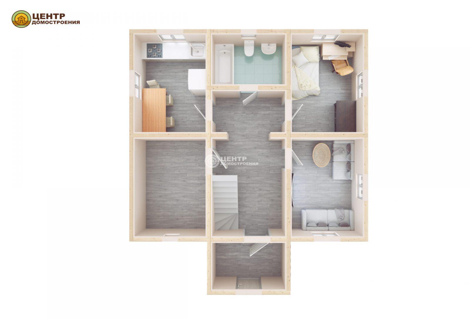 Проект дома 9 на 10