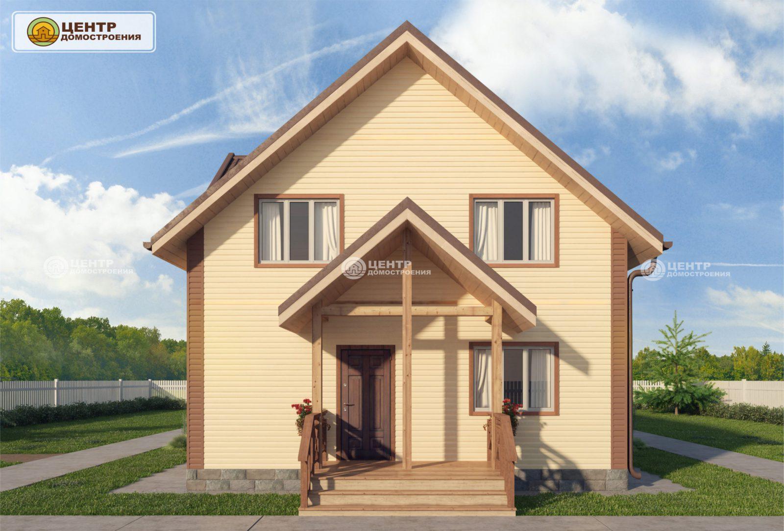 проект дома 8 на 9 с мансардой