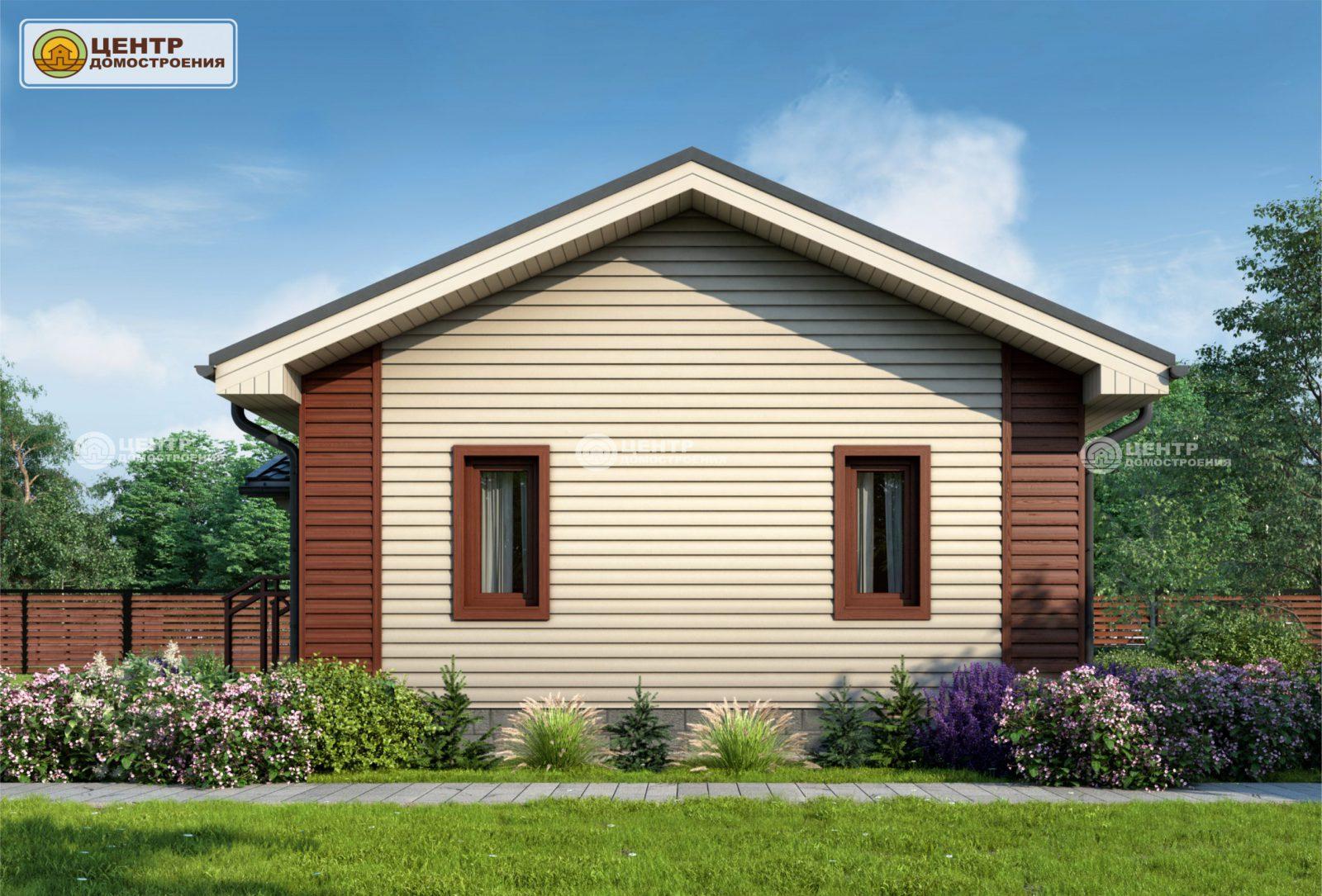 Проект одноэтажного дома 6 на 8