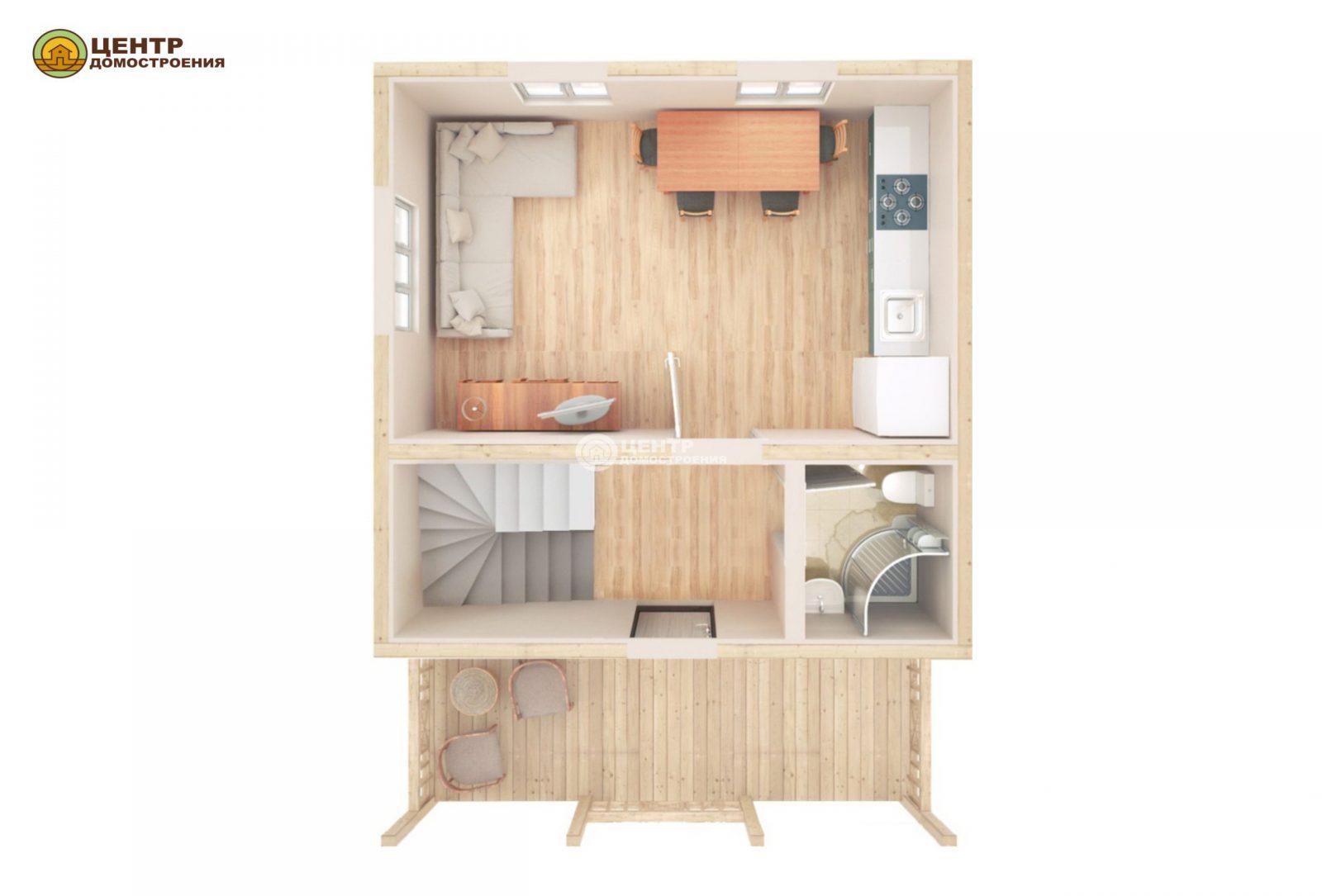 Проект дома 6 на 7