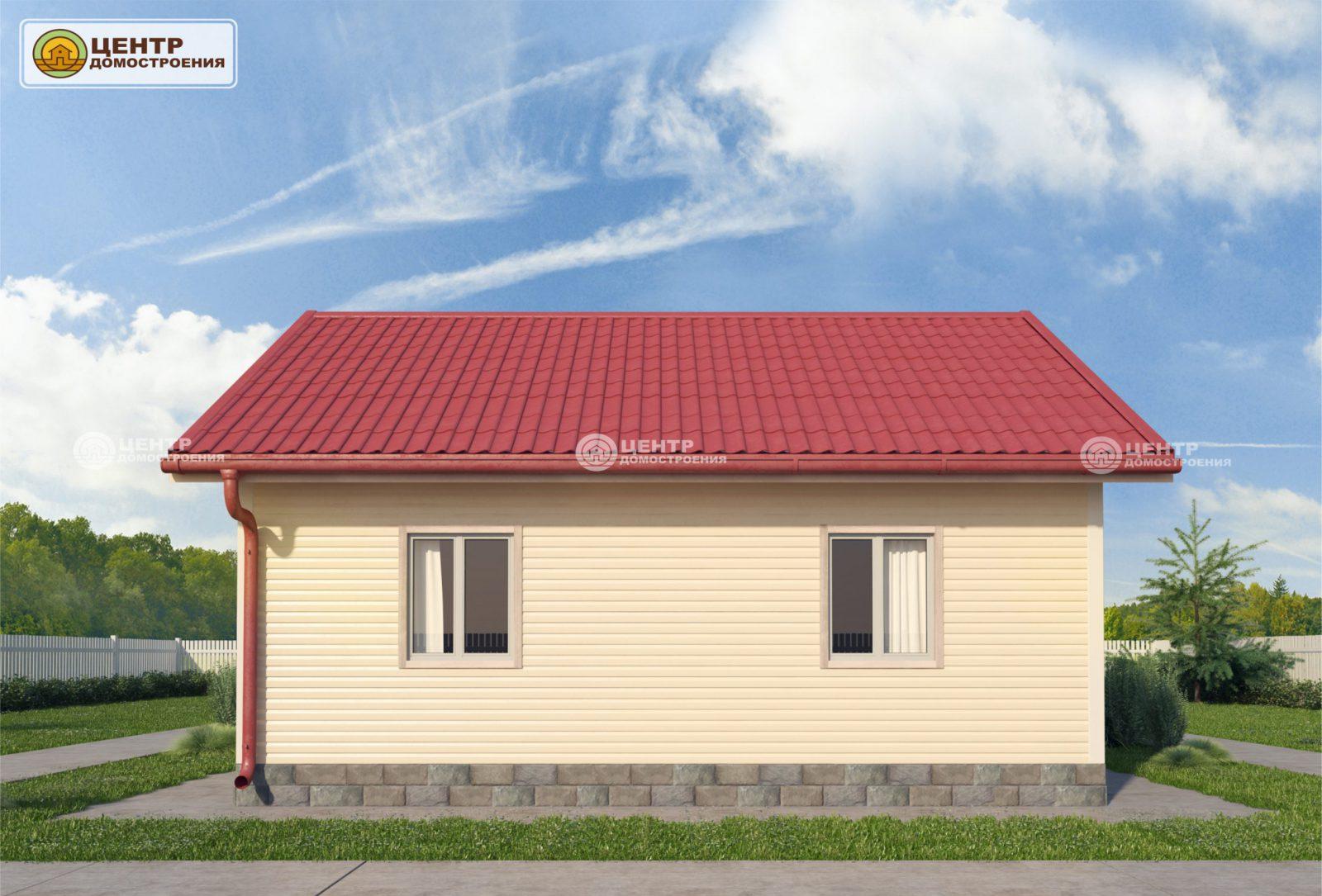 Проект дома 6 на 8 одноэтажный