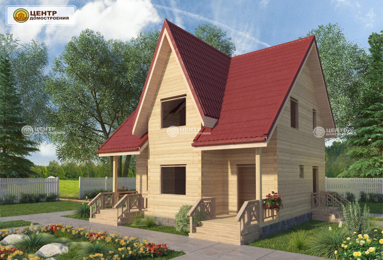 проект дома 8 на 8
