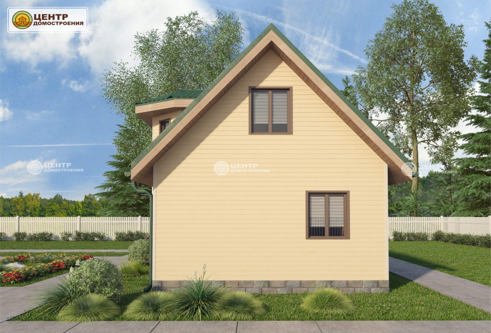 Проект дома 7 на 9 с мансардой