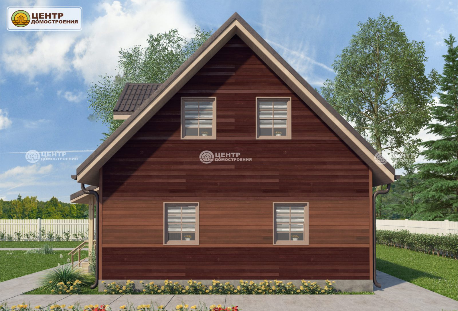 Проект красивого дома